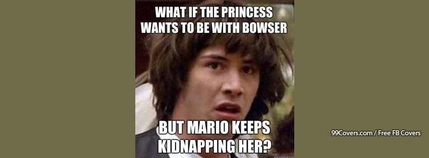 Conspiracy Keanu Mario Facebook Cover Photos