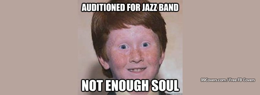 Over Confident Ginger Soul Facebook Cover Photos