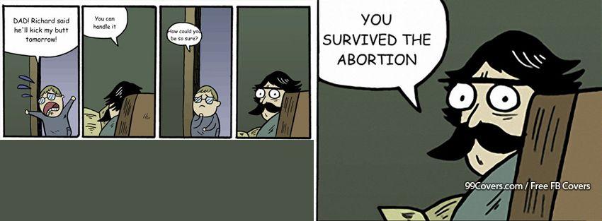 Stare Dad Abortion Facebook Cover Photos