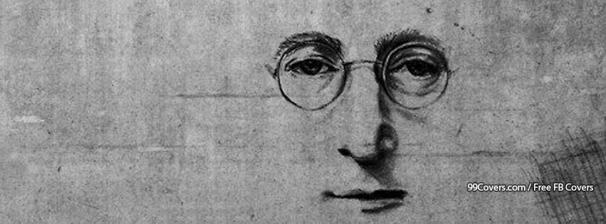 John Lennon Street Art Facebook Covers