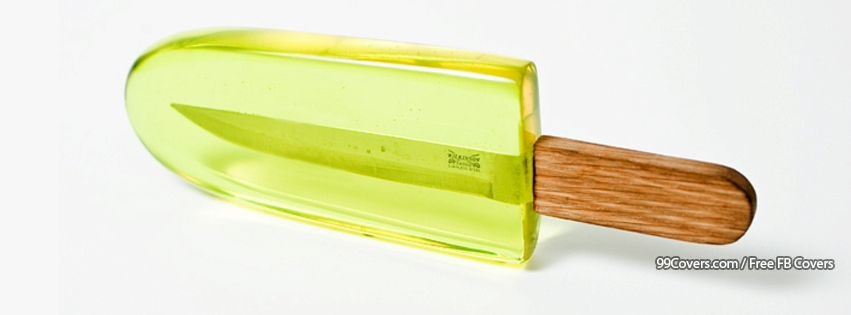 Knife In An Ice Cream Facebook Cover Photos