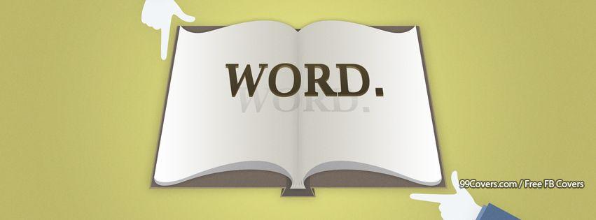 Word Facebook Cover Photos