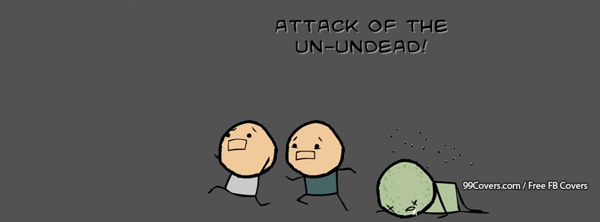 Attack Of The Un Undead Facebook Cover Photos