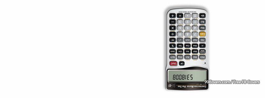 Funny Calculator Facebook Cover Photos
