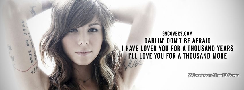 Facebook Cover Photos - Christina Perri A Thousand Years ...