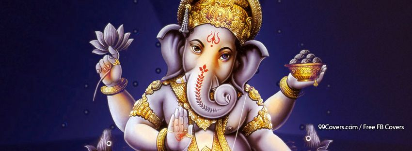 Lord Ganesha Facebook Covers