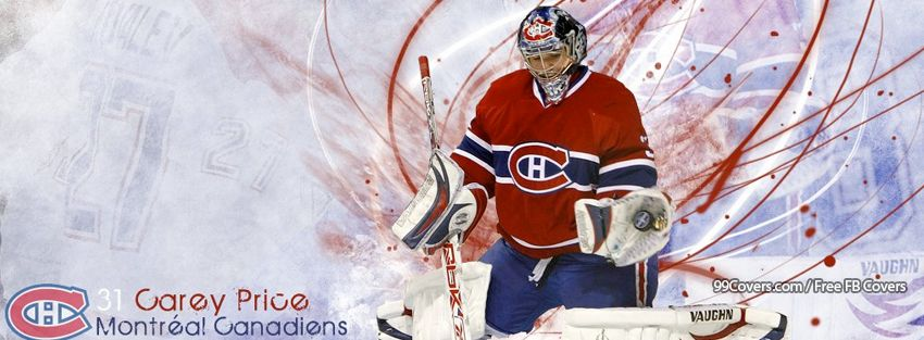Montreal Canadiens Carey Price Facebook Covers