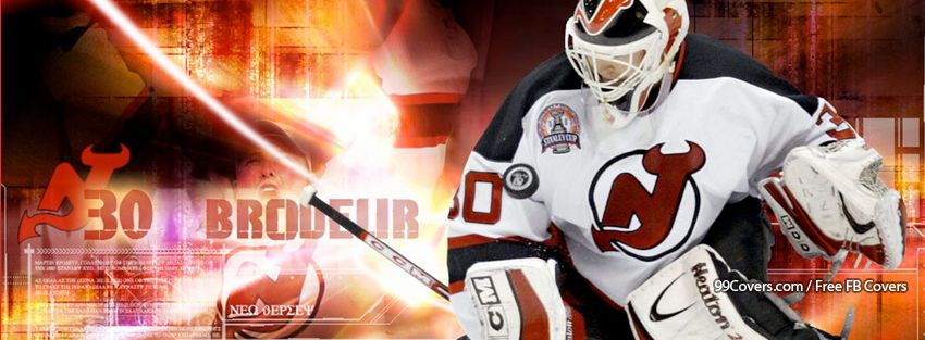 New Jersey Devils Brodeur Facebook Cover Photos