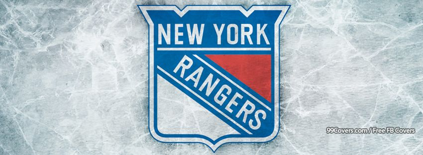 New York Rangers Ice Logo Photos