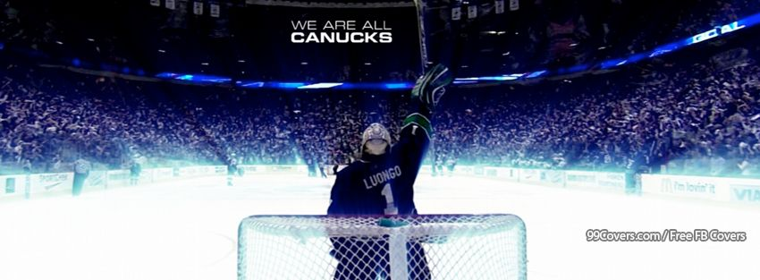 Vancouver Canucks Luongo Facebook Cover Photos