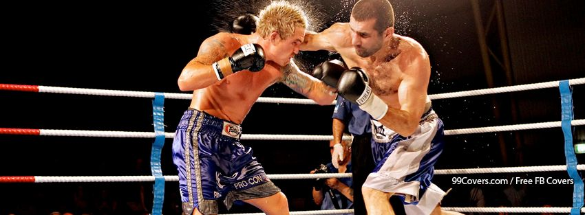 Boxing Punch Facebook Timeline Covers