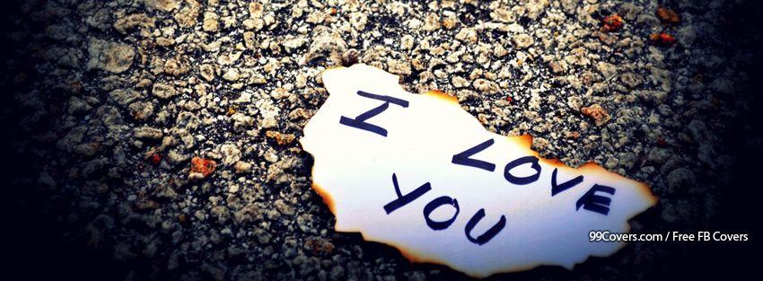 Love Note Facebook Cover Photos