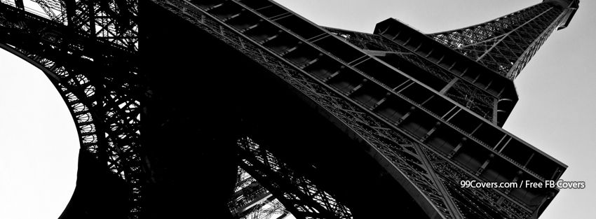 Eiffel Tower Facebook Cover Photos