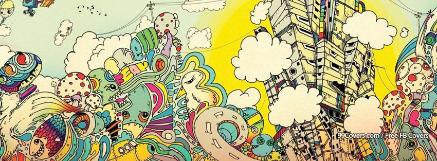Trippy World Facebook Cover Photos