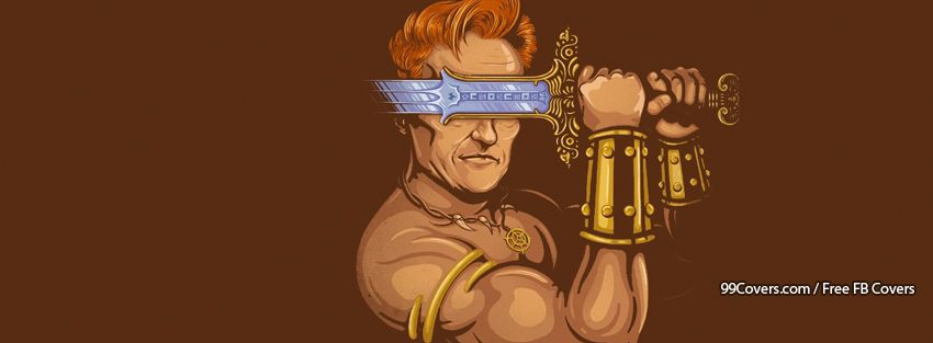 Conan The Talkshow Host Facebook Cover Photos