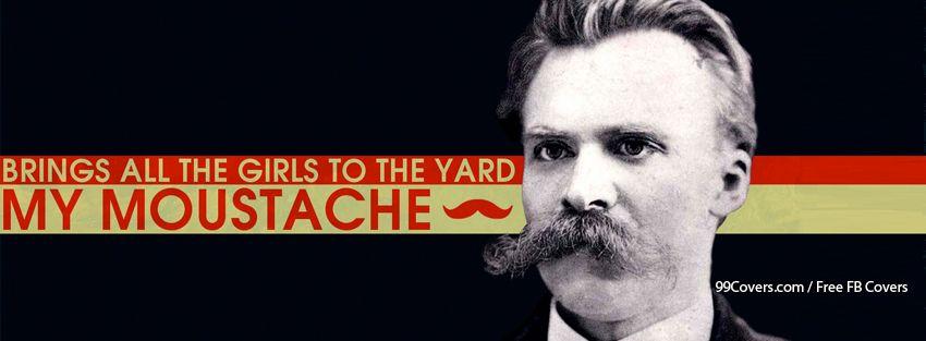 My Mustache Facebook Cover Photos