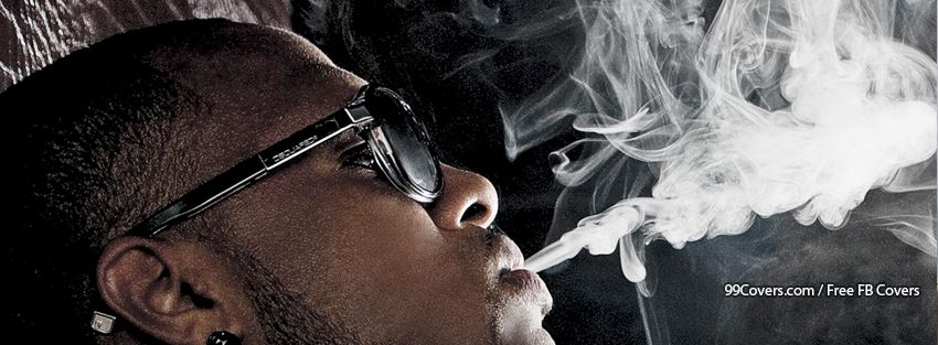 Blowing Smoke Facebook Cover Photo