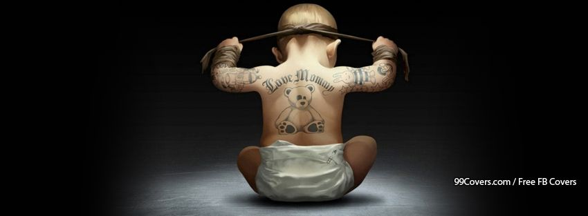 Gangsta Child Facebook Cover Photos