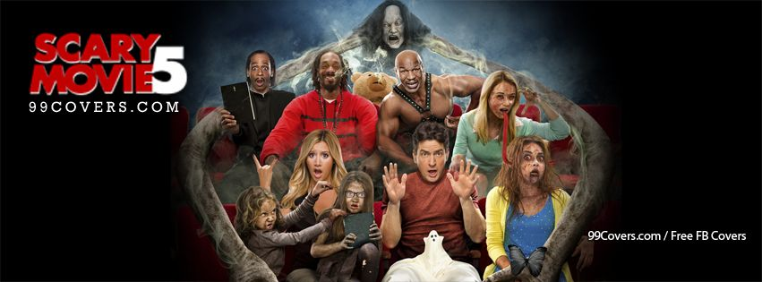 Scary Movie 5 Cast Facebook Cover Photos