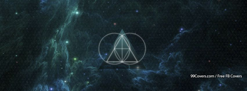 The Glitch Mob Galaxy Triangle Facebook Covers