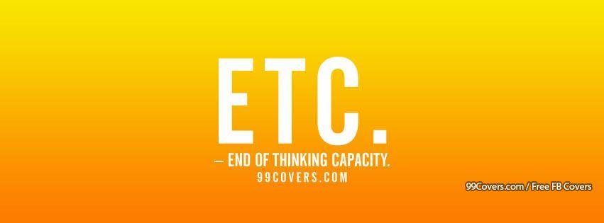 Etc Facebook Cover Photos