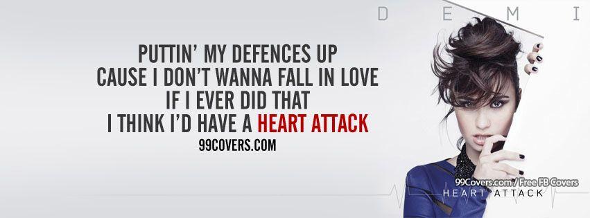 Demi Lovato Heart Attack Lyrics