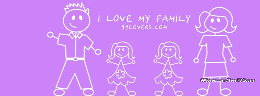 Facebook Cover Photos I Love My Family Girls Images