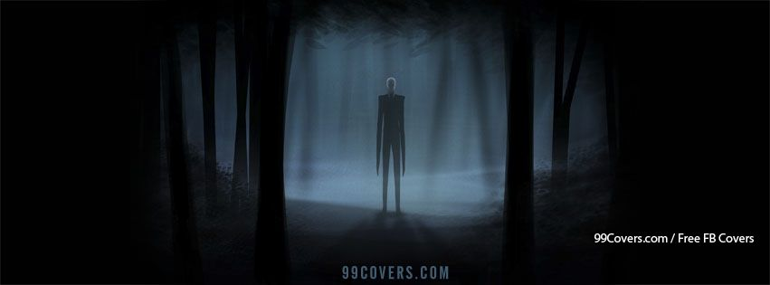 Facebook Cover Photos - Scary Slender Man Facebook Covers
