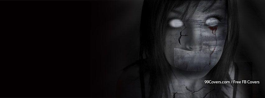 Facebook Cover Photos Creepy Girl Ghost Facebook Cover Photos