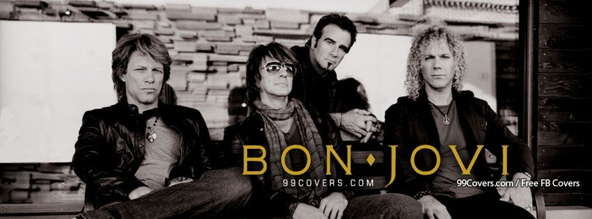 Bon Jovi Photos Facebook Covers