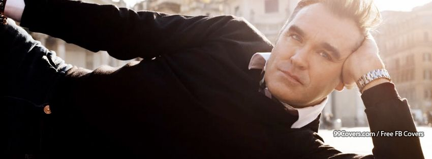 Morrissey Facebook Cover Photo