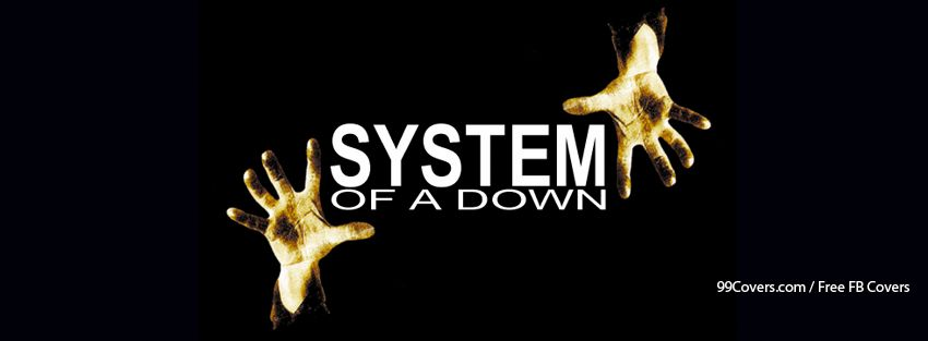 System Of A Down Facebook Cover
