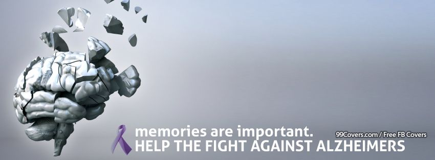 Alzheimers Awareness Facebook Timeline Cover Photo
