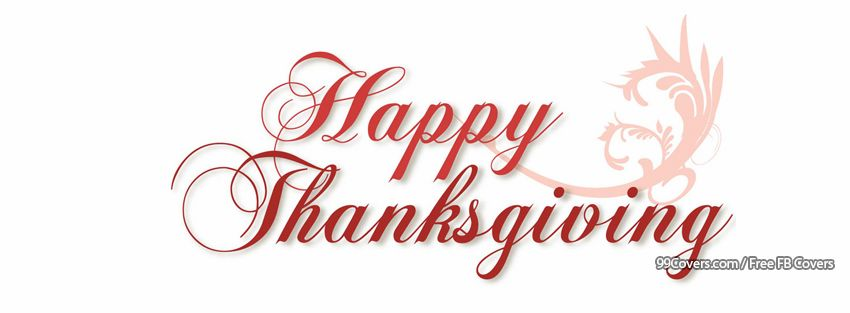 Happy Thanksgiving Cover Photos For Facebook Timeline