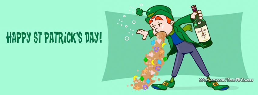 Happy St Patricks Day Fb Timeline Covers
