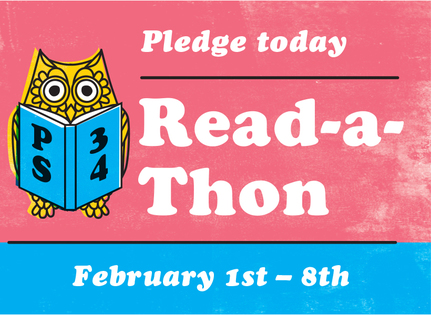 Ps34 read a thon header 2019
