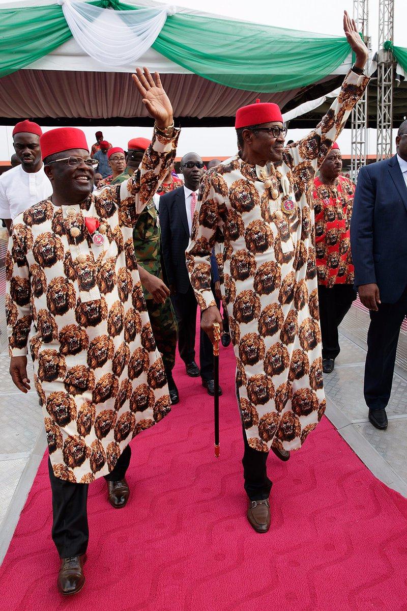 buhari pictures in ebonyi
