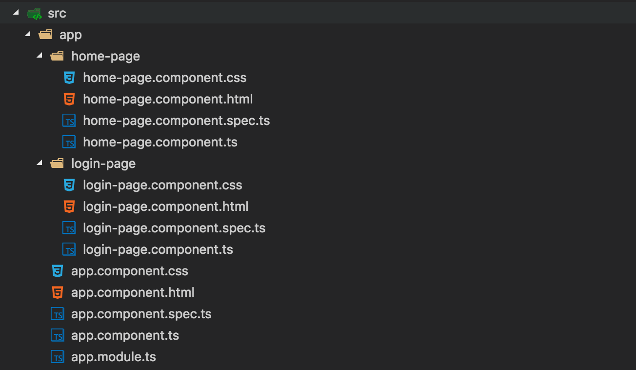 Create Angular Cli Components