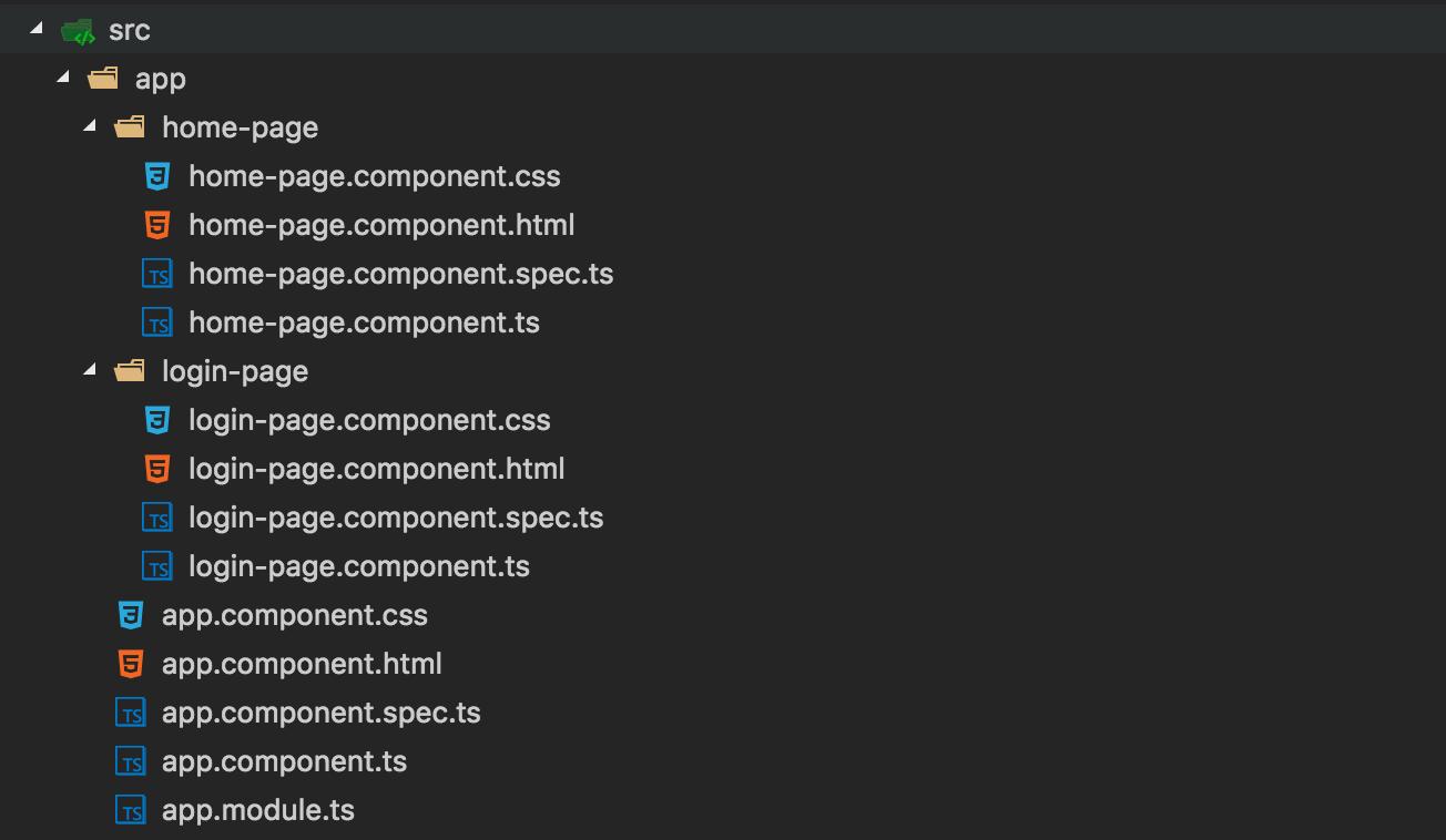 Create Angular Cli Components
