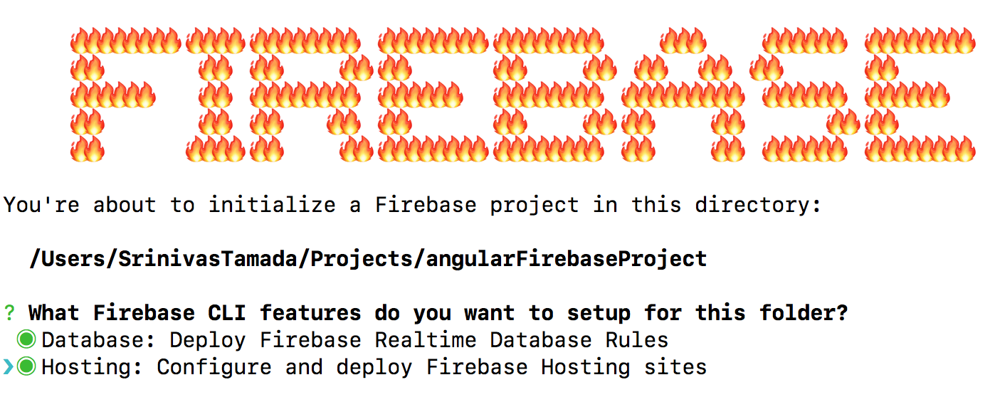 Create Angular Cli Firebase