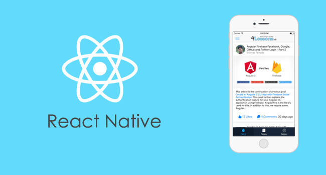 React Native Template Design