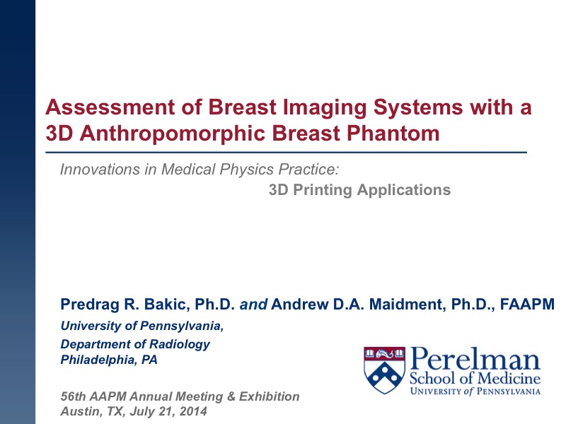 Aapm 56th Annual Meeting Exhibition Meeting Program Abstract