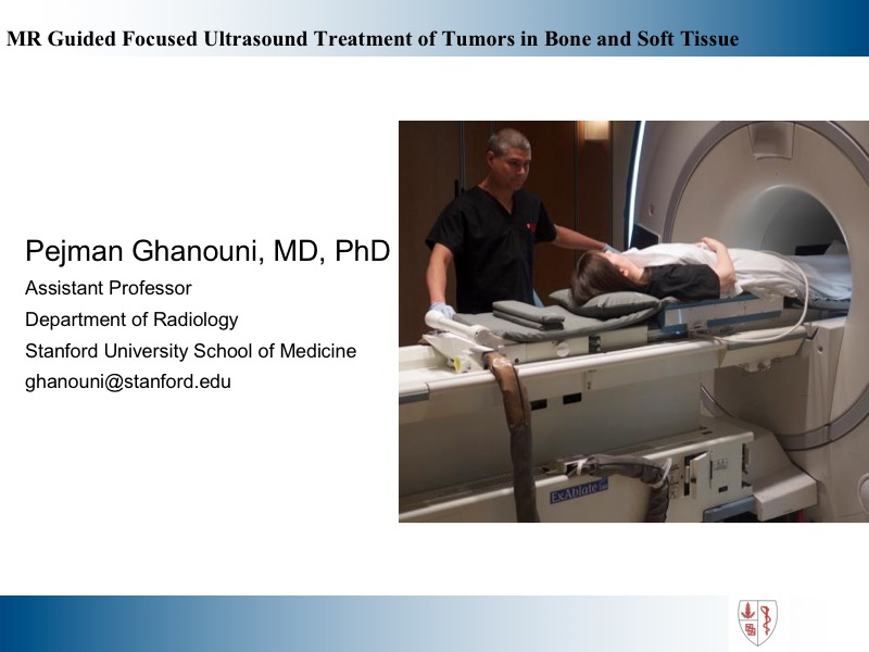 AAPM VL-MR-guided Focused Ultrasound Therapy in Oncology