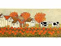 Pumpkin Patch Limited Edition Print by Arlene Fisher