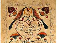 Personalized Fraktur Marriage Certificate by Elaine Kozak