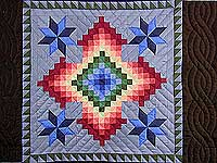 KING Amish Colors Grannys Favorite Quilt