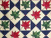 Autumn Splendor Log Cabin Quilt