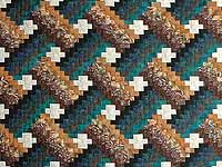 Teals and Tans Weavers Fever Quilt