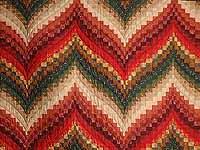 Autumn Leaves Bargello Quilt
