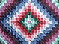 Amish Sunshine and Shadow Quilt